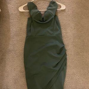 Pastel Green Midi Dress